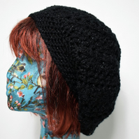 Black Slouch Hat, Women's Slouchy Hat