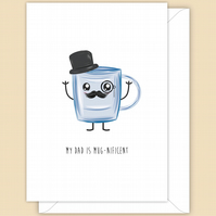 Funny Father's Day Card or Birthday Card for Dad