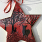 Christmas ornament, star, everyone's waiting for Christmas, Christmas decoration