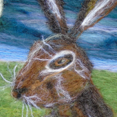 Yorkshire Hare Crafts  -  needle felt, knit and crochet