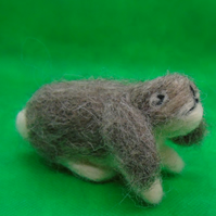 Needle felt floppy eared rabbit