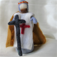 Knight, Needle felt,  St George