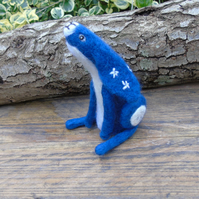 Starry night hare, blue hare, lepus hare, constellation hare, celestial hare
