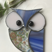 Stained Glass Owl