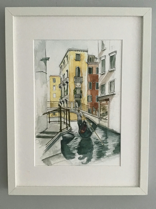 The Gondolier - Print
