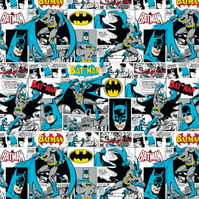 Batman Comic Strip - Cotton Print