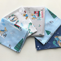 Peter Rabbit Christmas Fat Quarter Bundle