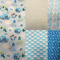 Meadow View From Anna Bella - 100% Cotton Fabric Collection