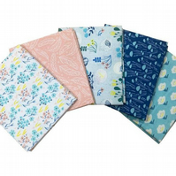 Meadow View From Anna Bella Fat Quarter - Pack of 5