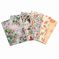 The Craft Cotton Co Beautiful Florals - 5 Pack