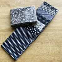 Basic Navy Blue Fat Quarter Collection - 7pcs (Pack of 5)