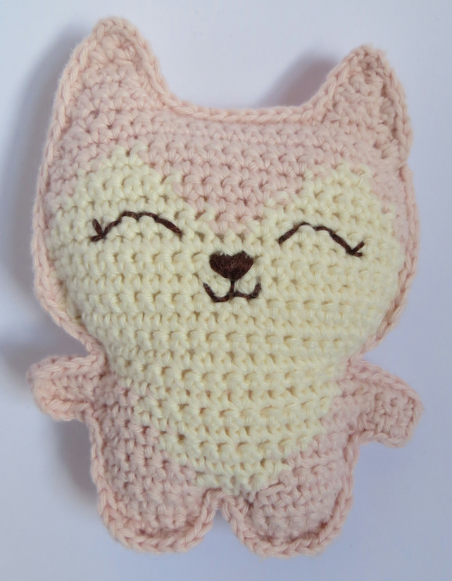 Fox, Baby Gift, Crochet Toy, Cotton yarn