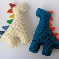 Dinosaur, Crochet Toy, Baby Gift, Cotton yarn