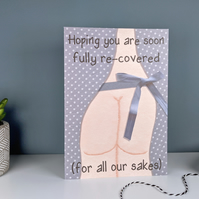 Funny Get Well Card - Operation, Surgery, or Hospital Stay Card
