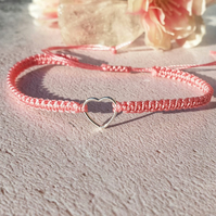 Love Macrame Braided Bracelet