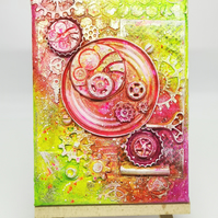 Industrial bright small canvas