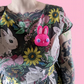 Sugar bunny plush brooch