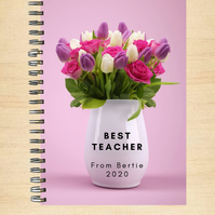 A5 Notepad with Personalised Message
