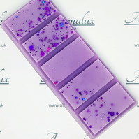 Parma Violet scented wax melt snap bar. Available in all sizes wax melts