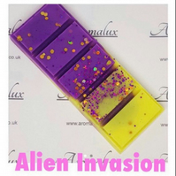 Alien Invasion scented wax melt snap bar. Perfume type wax melts