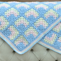 CRIB,PRAM COVER BABY BLANKET