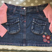Handmade Denim Child's Apron