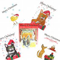 Any 6 cards from my full range - Christmas, birthday, blank cards