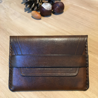 Genuine Leather Credit Card Wallet Holder