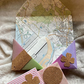 Origami Corner Page Keepers Upcycled Bookmarks Set of 4  RaggySu (S11)