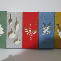 Christmas wax melt snap bar boxes