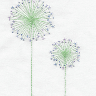 Aliums Beginners Embroidery Kit