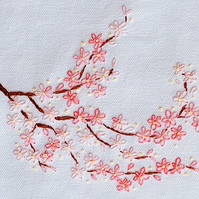 Cherry Blossom Beginners Embroidery Kit
