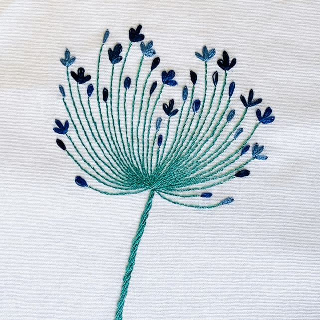 Agapanthus Beginners Embroidery Kit