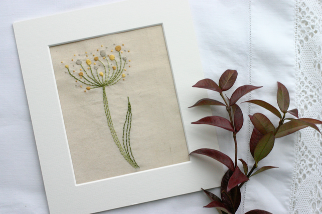 Queen Ann's Lace Beginners Embroidery Kit