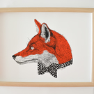 Mr Fox Screen Print