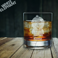 Laser Etched Personalised South Park Stan Whiskey-Highball-Pint-Tankard Glass