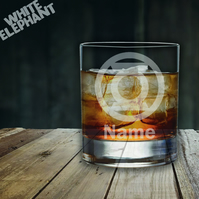 Laser Etched Personalised Green Lantern Whiskey-Highball-Pint-Tankard Glass