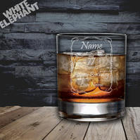 Laser Etched Personalised Jack Daniels Whiskey-Highball-Pint-Tankard Glass