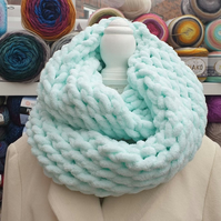 Cozy warm chunky infinity scarf Snood