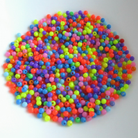 Small Multicoloured Beads
