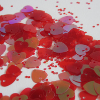 Red Heart Sequins 1cm