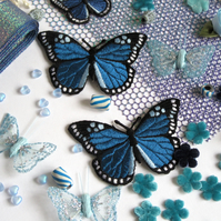 Blue Butterfly Haberdashery Bundle
