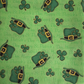 Happy St Patrick's Day Fat Quarter Fabric