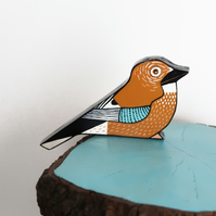 jay bird door topper, british birds wall art, bird lovers gift idea