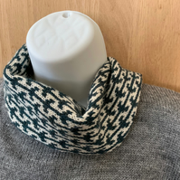 Pure Lambswool Fairisle Neckwarmer Snood