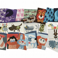 Kids Birthday Greetings 20 CARDS PACK 1 kids card bundle. Free uk delivery