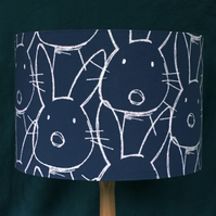 BUNNY RABBIT LAMPSHADE 30 CM SIZE FREE UK MAINLAND DELIVERY