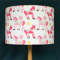 UNICORN LAMPSHADE. 30 CM SIZE. FREE UK MAINLAND DELIVERY.