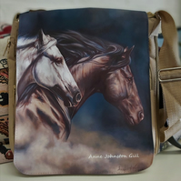 Horse bag,Stallion bag, shoulder bag