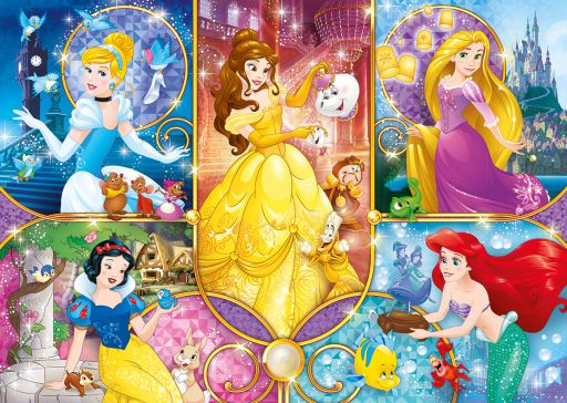 PRINCESSES (28) COLOURED CHART CROSS STITCH KIT